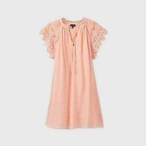 Who What Wear Flutter Sleeve Dress S